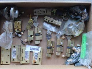 door locks and hinges