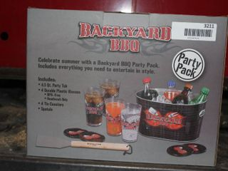 Backyard BBQ Party pack