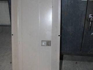 large breaker box door