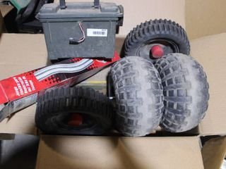 misc  including wheels and battery box