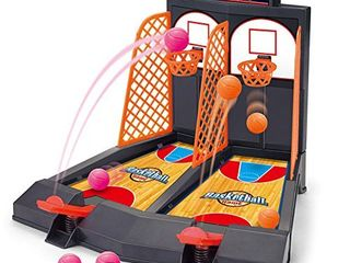 Basketball Shooting Game  YUYUGO 2 Player Desktop Table Basketball Games Classic Arcade Games Basketball Hoop Set  Fun Sports Toy for Adults Help Reduce Stress