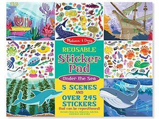 Melissa   Doug Reusable Sticker Activity Pad   Under The Sea