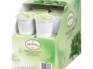 Twinings Pure Peppermint Tea K Cups  24 ea
