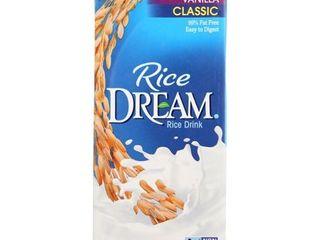 12 32 oz cartonsRICE DREAM  ClASSIC RICE DRINK  VANIllA