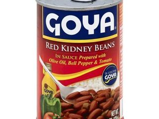 23 cans RED KIDNEY BEANS