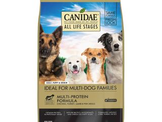 Canidae Dry Dog Food for All life Stages  Chicken  Turkey  lamb and Fish  44 Pound