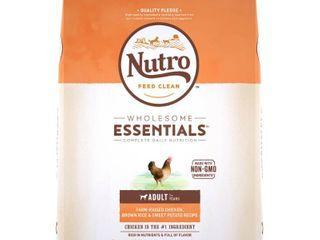 Nutro Wholesome Essentials Farm Raised Chicken  Brown Rice   Sweet Potato Recipe Adult Dry Dog Food   15lbs