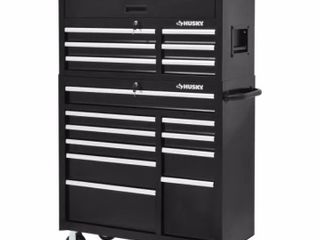 Husky 41  16 Drawer Tool Chest and Cabinet Retail   548 00