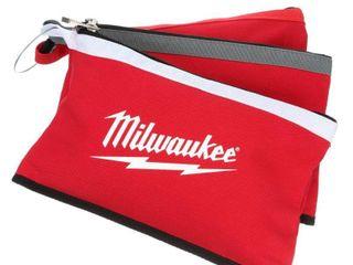 Milwaukee Zipper Pouches  4 Pack