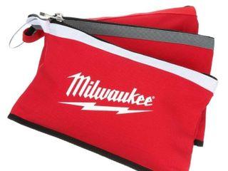 Milwaukee Zipper Pouches  3 Pack