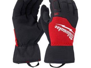 Milwaukee X large Winter Performance Work Gloves  Black