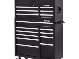 Husky 41  16 Drawer Tool Cabinet Retail   548 00