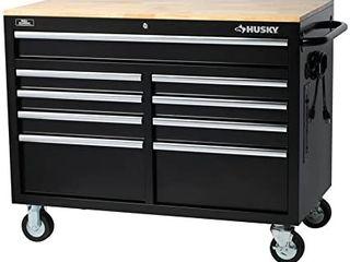Husky 46  9 Drawer Mobile Workbench Retail   348 00