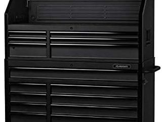 Husky 52 in  W 20 in  D 15 Drawer Tool Chest and Cabinet  Textured Black Retail   1 459 00