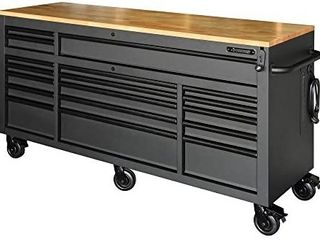 Husky 72  18 Drawer Workbench with Adjustable Height Retail   1 899 99