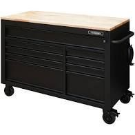 Husky 52  9 Drawer Workbench In Black Retail   941 49
