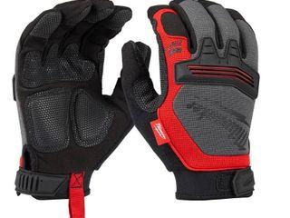 2 pair Milwaukee Jobsite Work Gloves  large