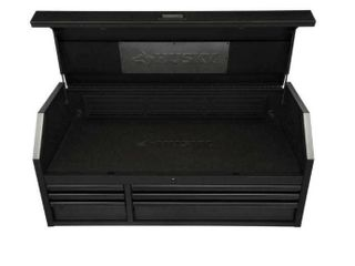 Husky 52  15 Drawer Industrial Tool Chest and Cabinet ONlY CONTAINS TOP HAlF OF CHEST Retail   898 00