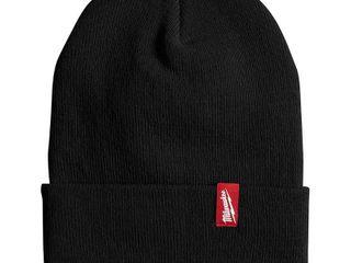 2 hats  1 black 1 gray  Milwaukee Men s Black Acrylic Cuffed Beanie Hat  Blacks
