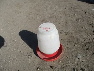 WATERER   WHITE RED