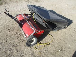 lAWNSWEEPER   AGRIFAB  RED
