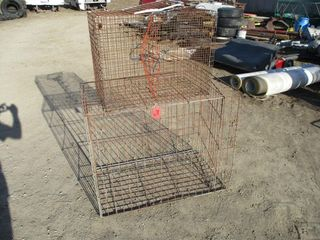 2 WIRE CAGES