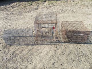 3 WIRE CAGES
