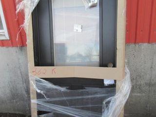 DOOR W  WINDOW   BlACK WHITE
