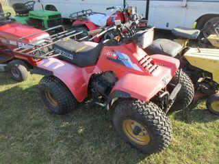 ATV   SUZUKI 4 WHEElER  RED