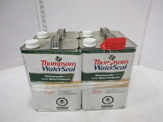 4 CONTAINERS THOMPSON S WATER SEAl