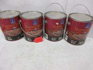 4 CANS EXTERIOR DECK