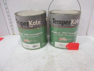 2 CANS TEMPER KOTE