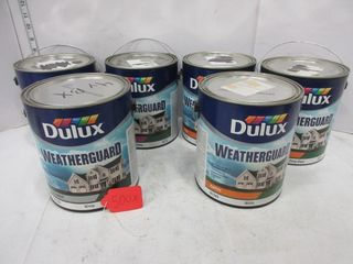 6 CANS WEATHERGUARD