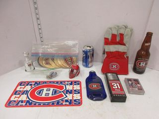 lOT  CANADIENS COllECTIBlES