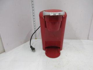 COFFEE MAKER   KEURIG  RED