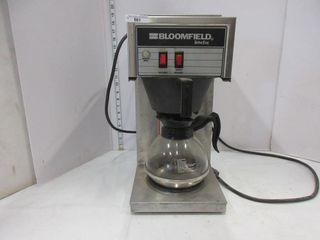 COFFEE MAKER   BlOOMFIElD
