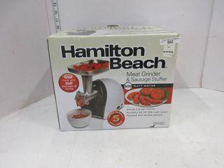 MEAT GRINDER   HAMIlTON BEACH