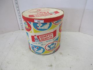 HUMPTY DUMPTY CHIP CONTAINER