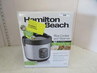RICE COOKER   HAMIlTON BEACH