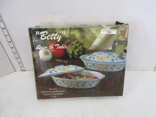 BETTY  OVEN TO TABlE