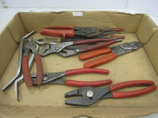 lOT  WRENCHES  TIN SNIPS  MISC