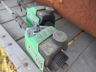2 TRIMMERS   lAWN BOY  GREEN
