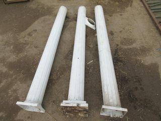 3 COlUMNS   WHITE  METAl