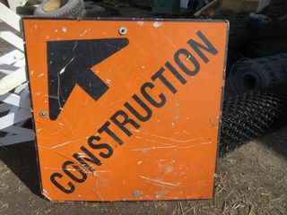 SIGN  CONSTRUCTION