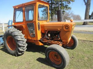FORD TRACTOR W  CAB