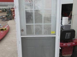 DOOR W  SCREEN DOOR   WHITE