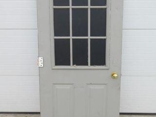 DOOR   WINDOW TOP HAlF