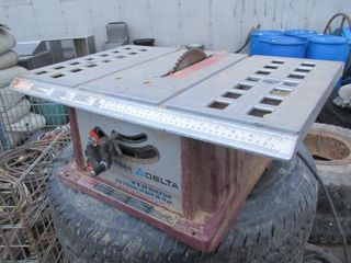 TABlE SAW   DElTA