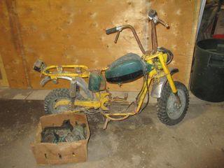 MOTOR BIKE   YEllOW