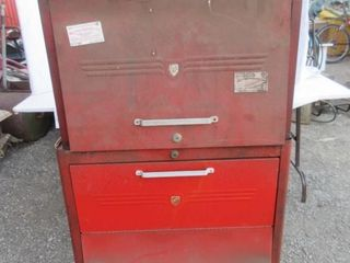 TOOl BOX ON WHEElS   RED